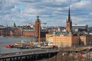 Gamla Stan, center of Stockholm in Sweden