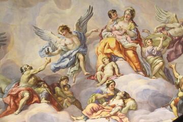 Coupole de l'église Saint Charles, Vienne