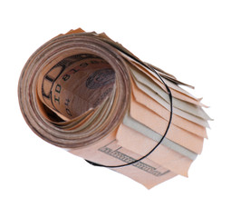 Roll of banknotes