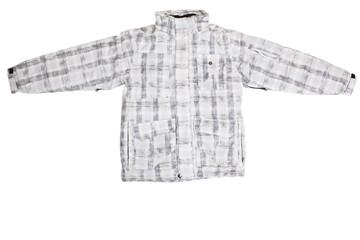 White jacket isolated on white