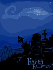 Graveyard Background