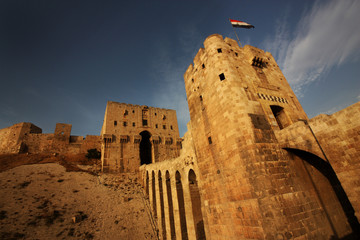 Castle in Middle East