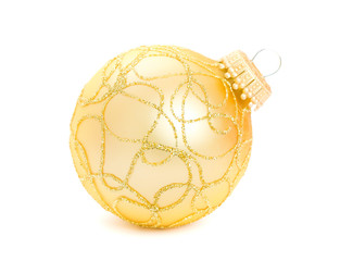 Christmas ball isolated on the background