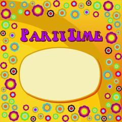 PartyTime - 70'er Jahre Hintergrund