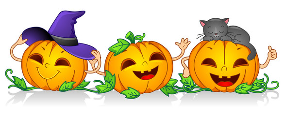 Happy Pumpkins