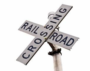 Railroad Crossing Cross