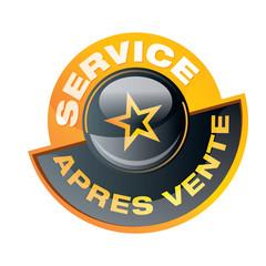 Service après vente - SAV Bouton, icone