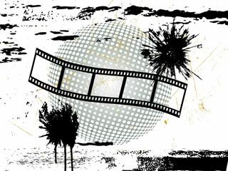 Filmstreifen - grunge Style
