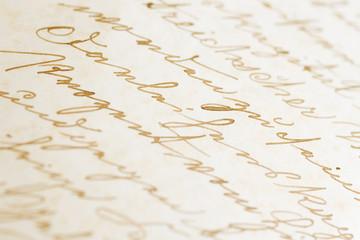 alte Korrent-Handschrift