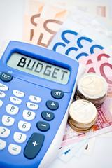 Obraz Calculer son budget - fototapety do salonu