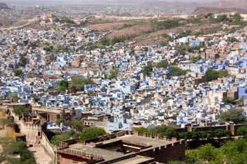 famous blue city in india