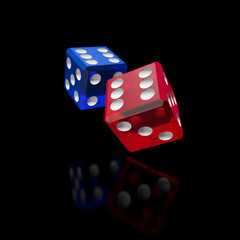 two color dices