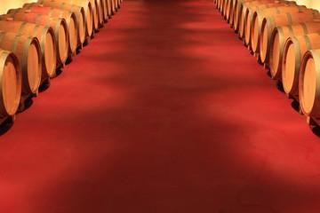 Wall Mural - Barrique,Weinkeller,Eichenfässer,Weinfässer,Holzfässer