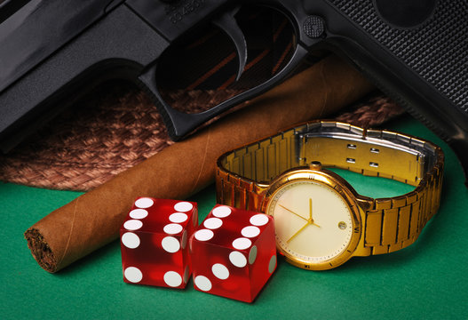 Mobster's accessories
