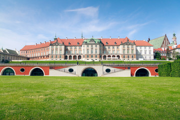 Royal Castle in Warsaw - east side