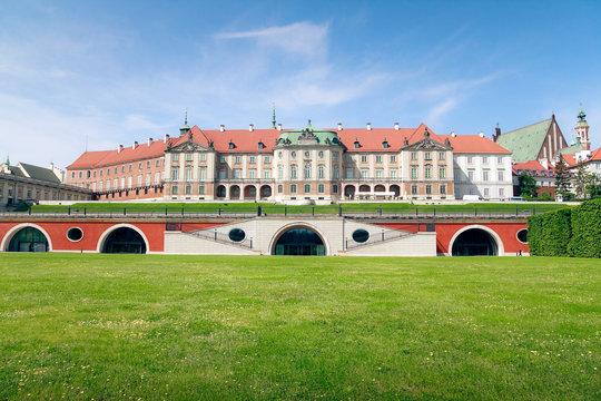 Royal Castle in Warsaw - east side