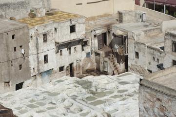 Gerberei in der Altstadt von Marrakesch