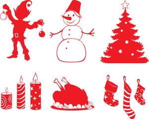 Christmas shapes1