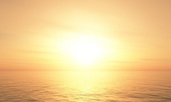 Hot Sunset background 08
