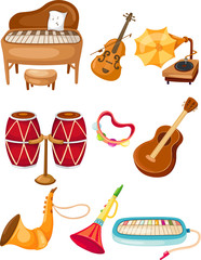Set of instrument