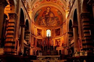Inside Duomo,Pisa,Italy