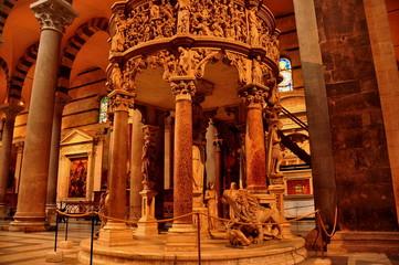 Pulpit in Duomo,Pisa,Italy