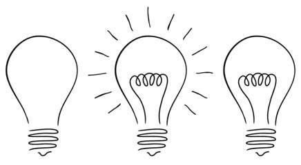 Great Idea - 3 Light Bulbs