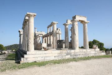 Aphaia Tempel auf Ägina