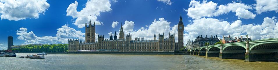 Pocztówka na Londyn. Westminster, Big Ben