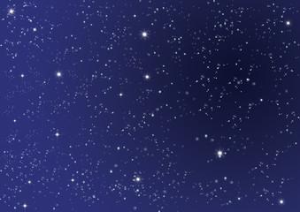 Star on the dark .