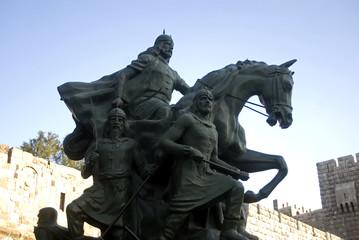 Saladdin Statue, Damascus, Syria