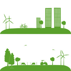Campagne, urbanisation, écologie, agriculture