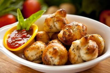 Garlic Bread knots 2