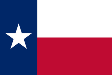 Wall Mural - Texas state flag