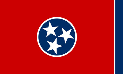 Wall Mural - Tennessee state flag