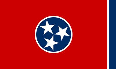 Fototapete - Tennessee state flag