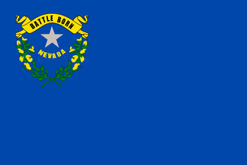 Wall Mural - Nevada state flag