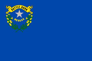 Fototapete - Nevada state flag