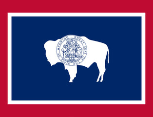 Wall Mural - Wyoming state flag