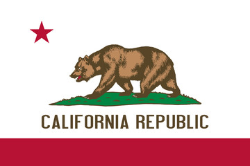 Wall Mural - California State flag