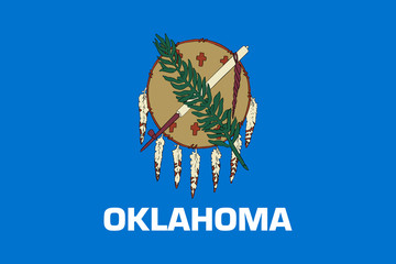 Wall Mural - Oklahoma state flag