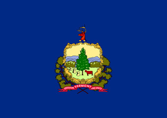 Wall Mural - Vermont state flag