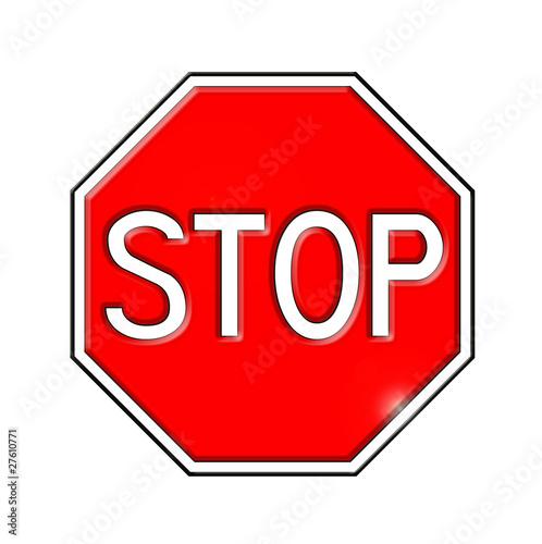 Panneau routier stop photo libre de droits sur la banque d 39 i - Prix d un panneau stop ...