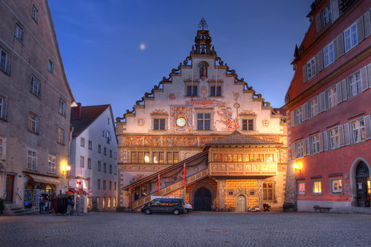 The Old Town Hall in Lindau, Germany