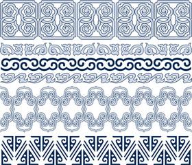 oriental decorative element design