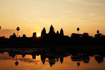 アンコールワットの朝日 Angkor Wat Sunrise