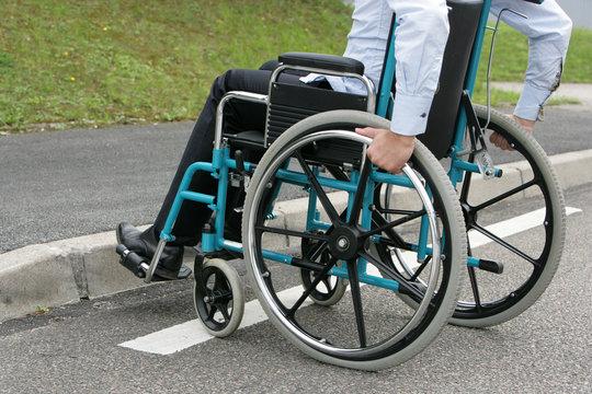 Handicap trottoir