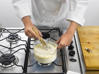 utilisation du fouet en cuisine