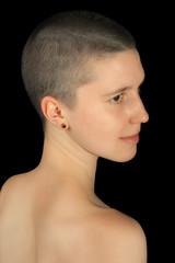 shaved girl