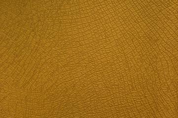 Gelbe Ledertextur